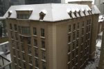 Snowy roof photo