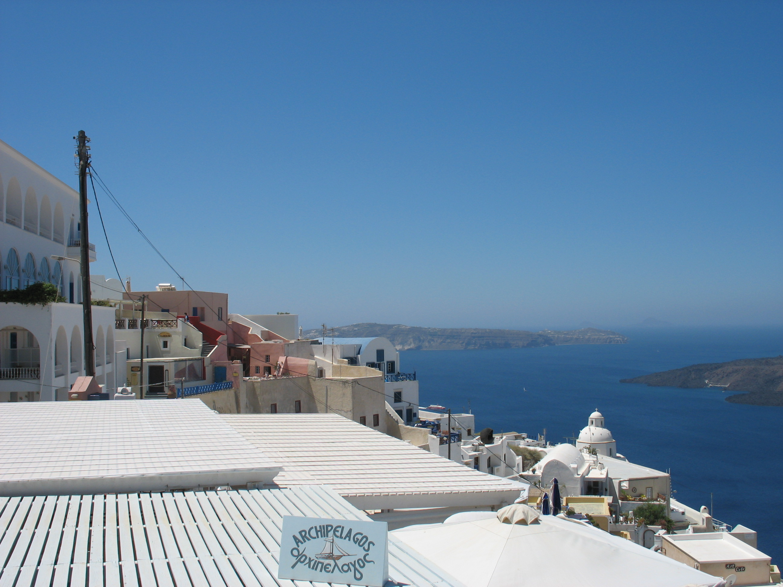 greek islands white wash photo